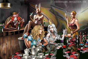 Alice in Wonderland fanart by nandamegumi