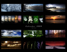 Calendar 2009 II by zardo