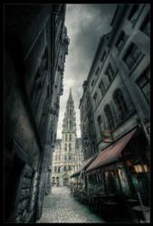 Bruxelles heart by zardo