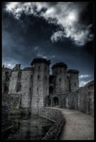 Castle of white dragon by zardo