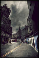 Edinburgh street II by zardo