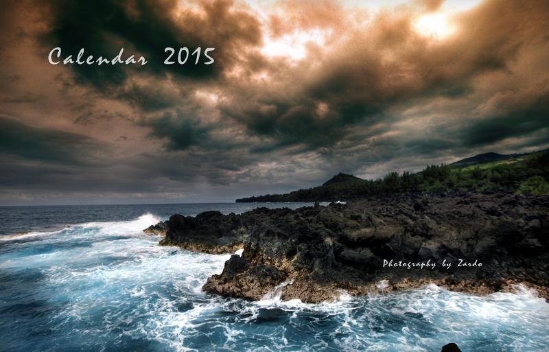2015 Calendar by zardo
