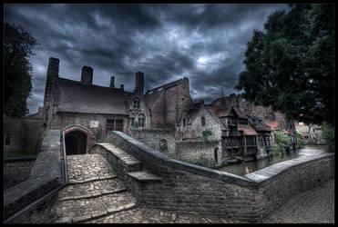 Dark side of Bruges by zardo