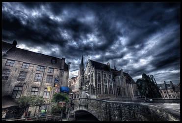 Dark side of Bruges II by zardo