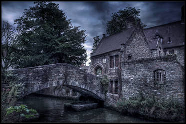 Dark side of Bruges IV by zardo