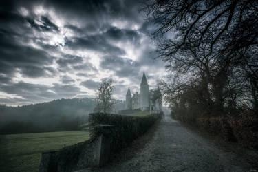 Walking in the mist by zardo