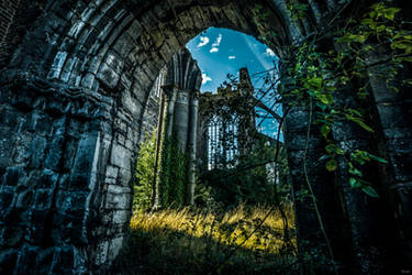 Door of ruined life
