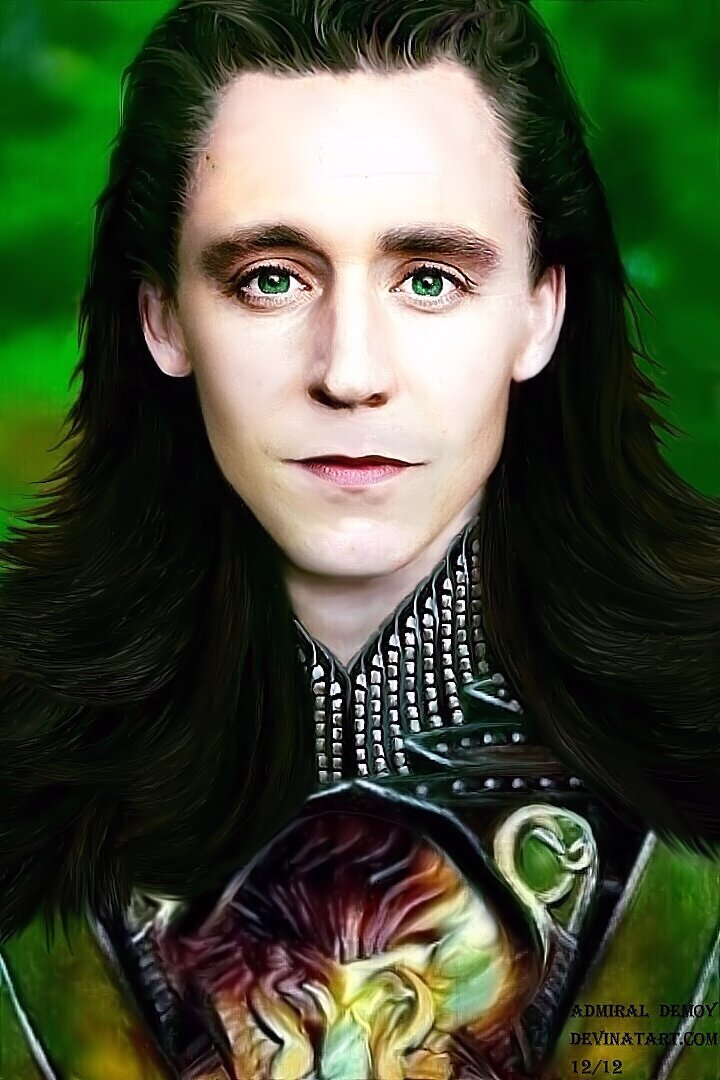 Loki Thor 2 Hair Loki - Visions of a Dark World