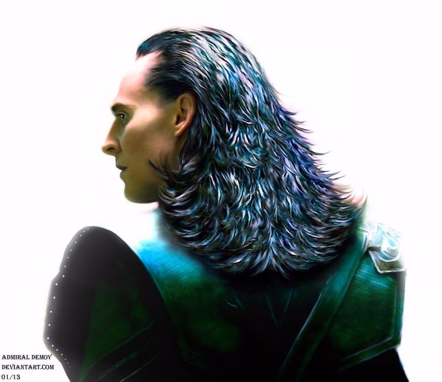Loki Thor 2 Hair Loki - There Are No Men Like