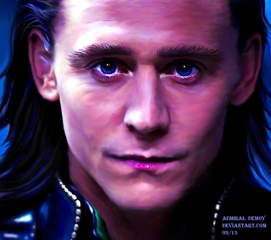 Loki - Burdened with Glorious Purpose III (Old) by AdmiralDeMoy
