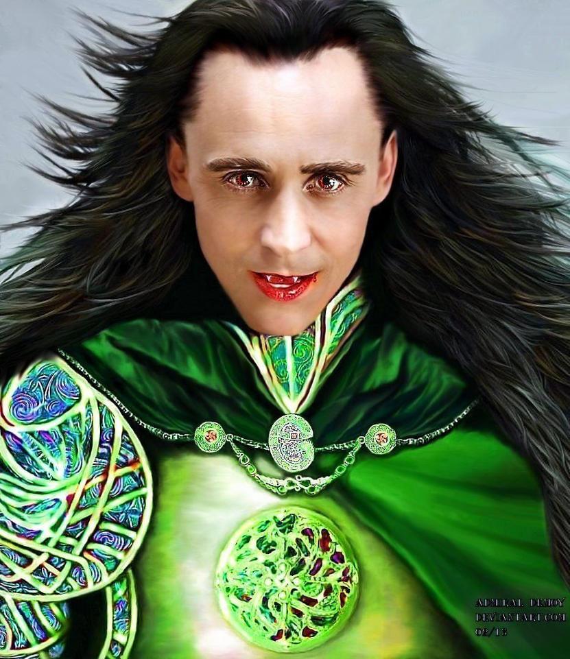 Loki - A Study in Colour VII by AdmiralDeMoy