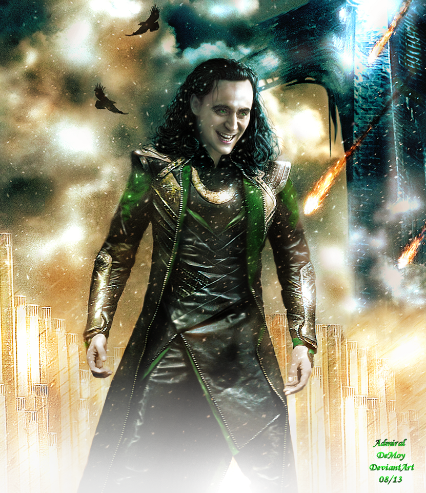 Loki - The Dark World Poster Version I by AdmiralDeMoy on ...