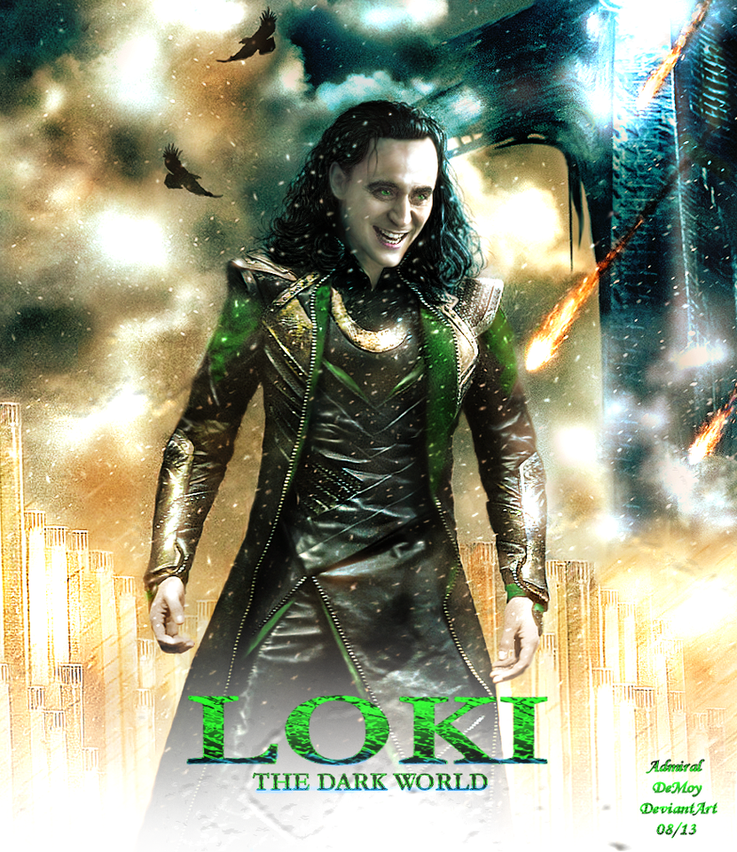 Loki - The Dark World Poster Version II by AdmiralDeMoy on ...