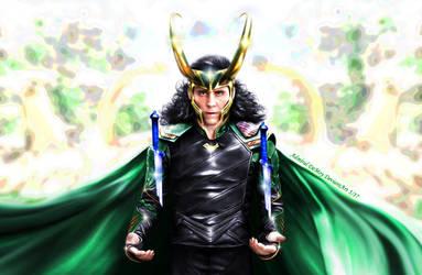 Loki - Ragnarok IV by AdmiralDeMoy