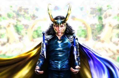 Loki - Ragnarok IV Blue by AdmiralDeMoy