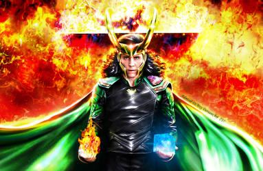 Loki - Ragnarok IV Eternal Flame by AdmiralDeMoy