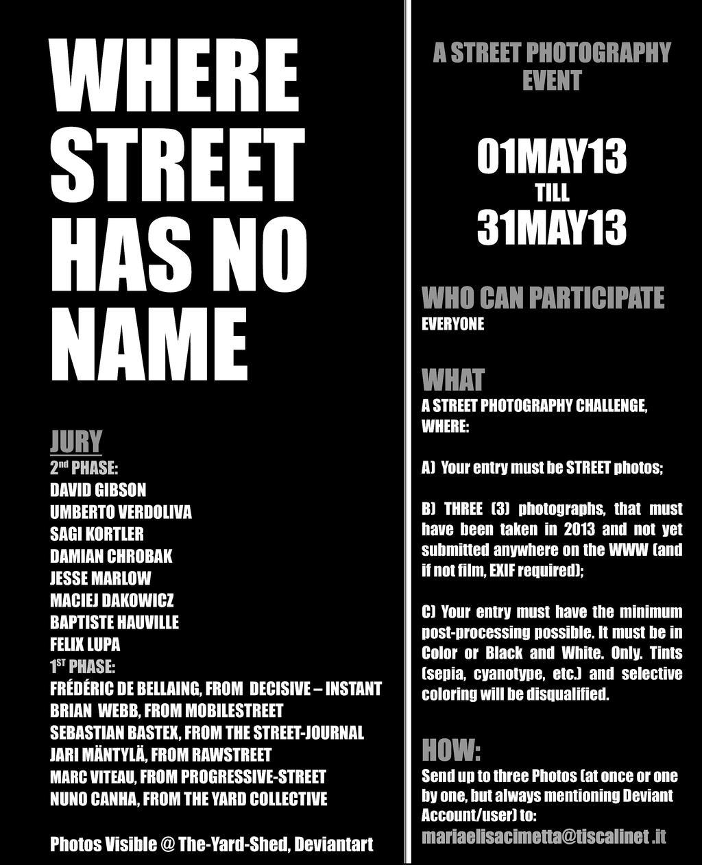 Where Street Has No Name by NunoCanha