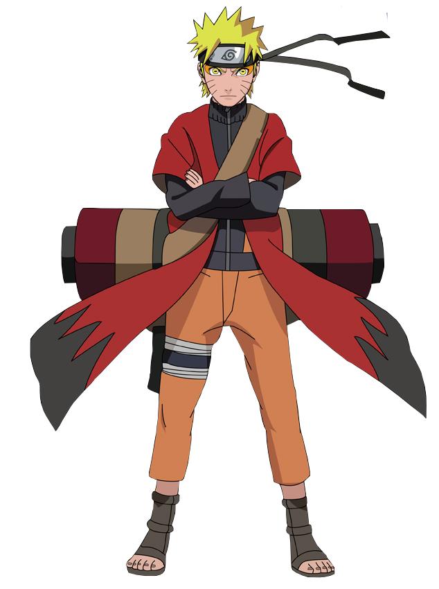 Naruto - Sage Mode Minecraft Skin