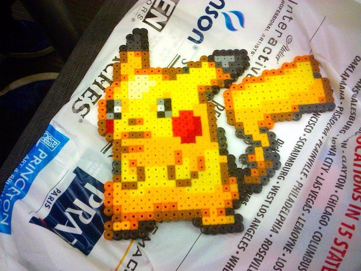 Pikachu Sprite by BoxGiraffe