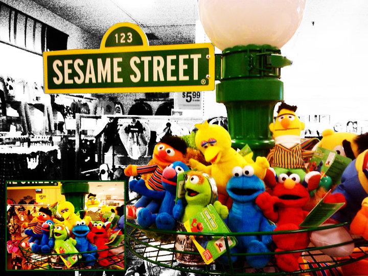 Sesame Street. by BoxGiraffe
