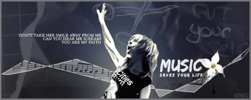 Music saves your life by SavingMel