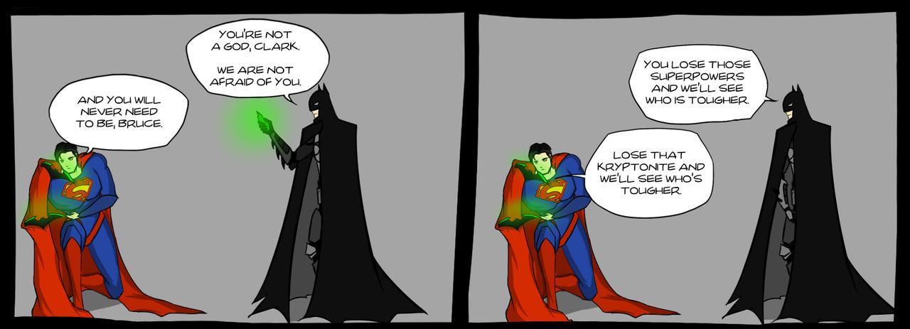 Clark and Bruce by Sallar47