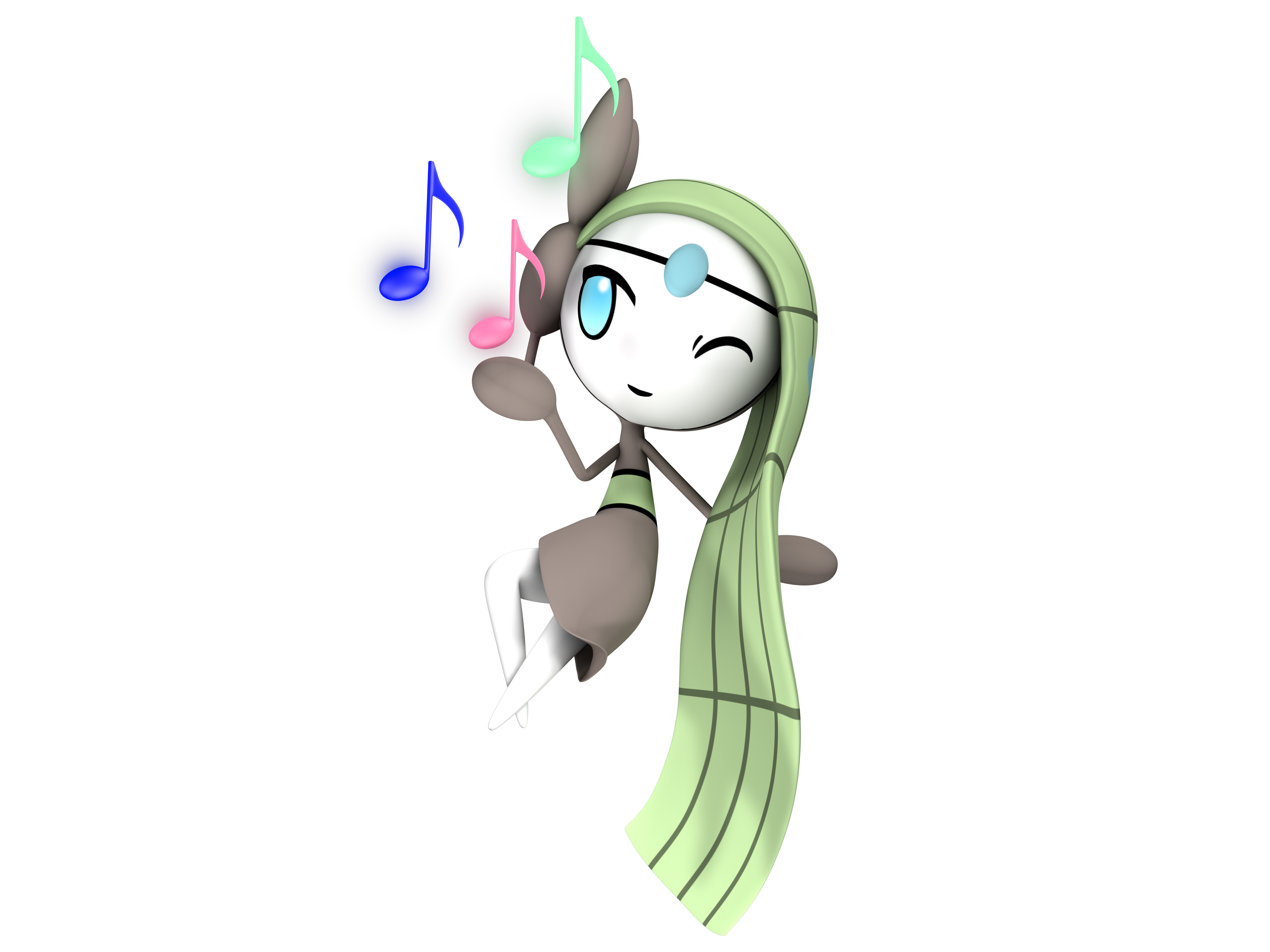 Relic Song Aria- Meloetta by PseudoController on DeviantArt