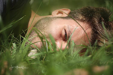 Onto the grass.. by lorymaryb