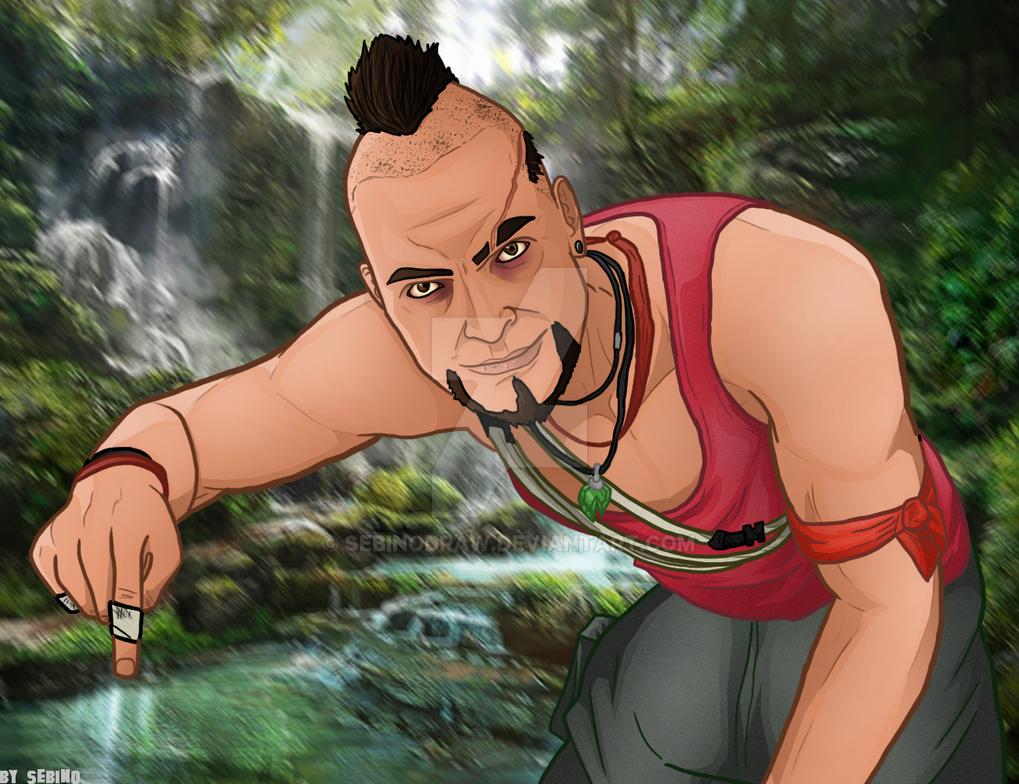 Vaas Montenegro - Far Cry 3 by SeBiNoDraw on DeviantArt