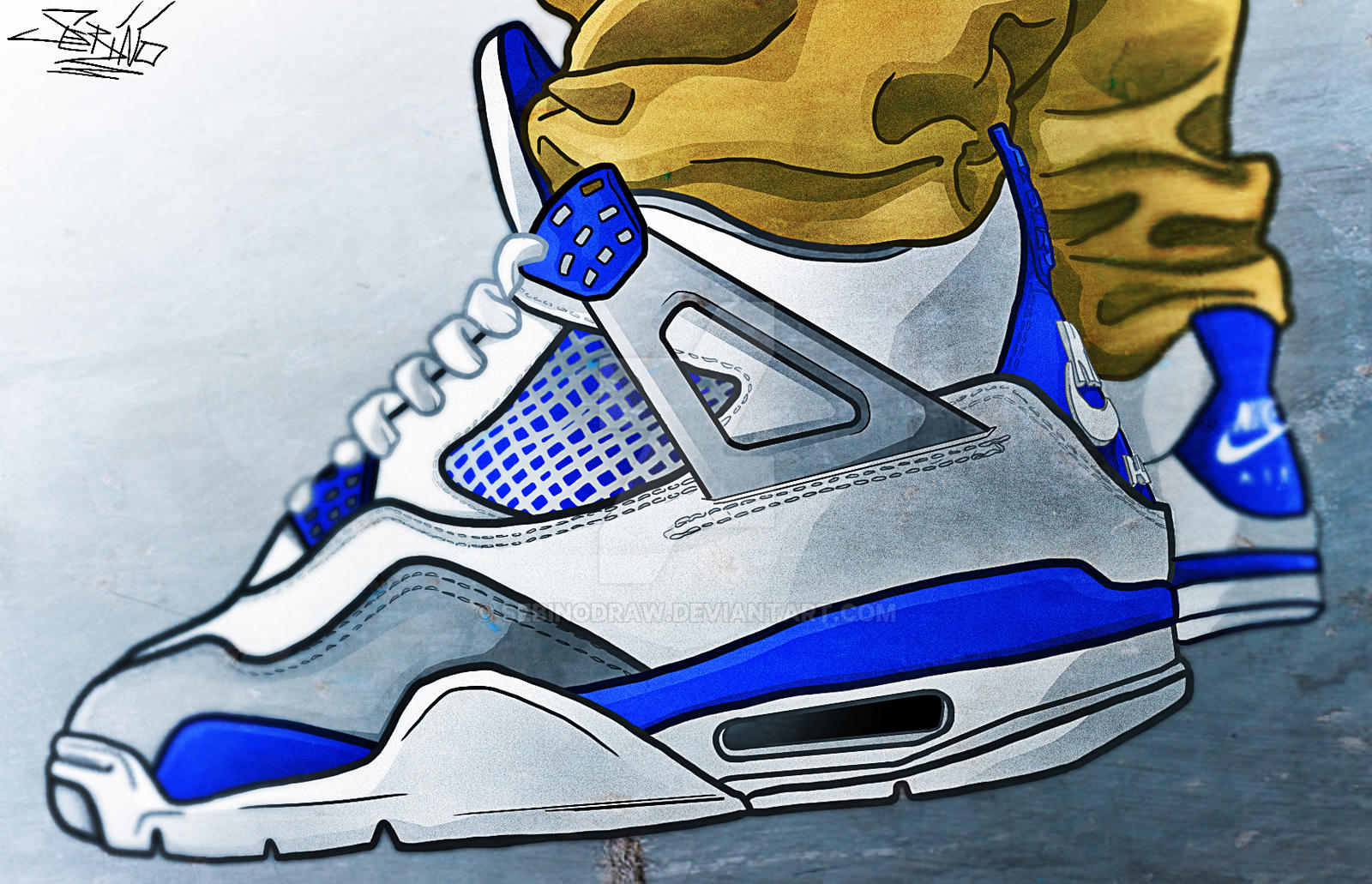 quality design 1478b 81b99 How to draw shoes jordans