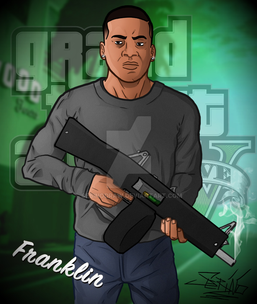 Франклин из гта 5 как сделать франклина в 110