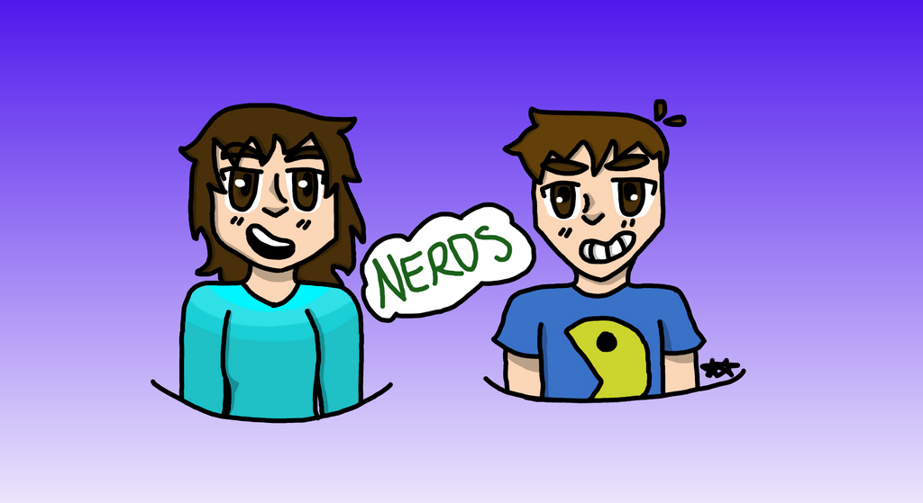 We are total nerds! by maddylove16