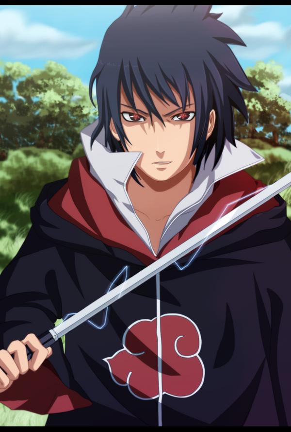 Uchiha Sasuke by VitalikLoL