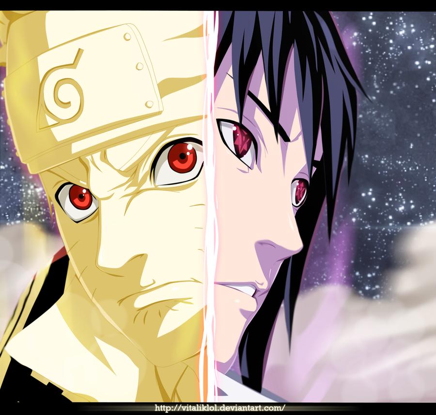 Naruto 486 Sasuke And Naruto By Allanwade On Deviantart: Naruto 635: Naruto And Sasuke By AllanWade On DeviantArt