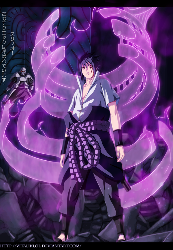 Sasuke Susanoo by VitalikLoL