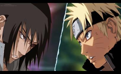 Naruto Vs Sasuke by AllanWade