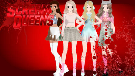 Mmd X Scream Queens Chanels by YumiNaoChan
