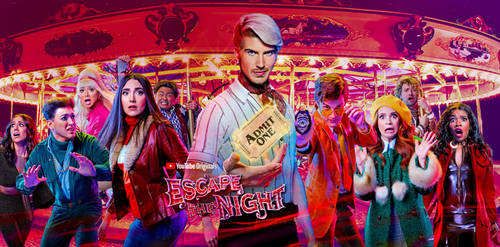 Escape The Night Season 3 Fanmade Poster by YumiNaoChan