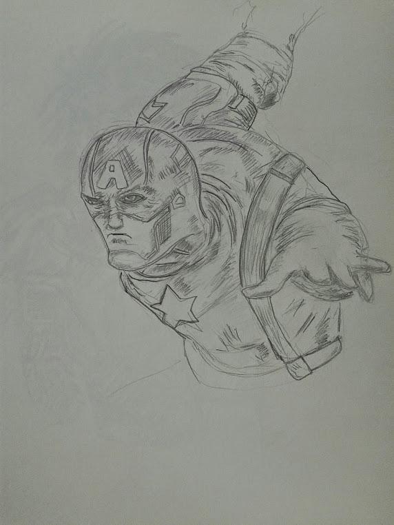 Captain America Study 132959 by Ghostdogcs