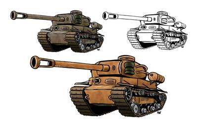 Tank variant 1