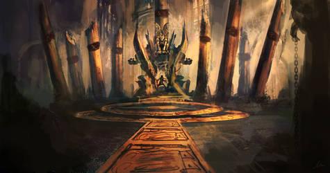 Throne room by matty17art