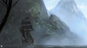 mysterious island by matty17art