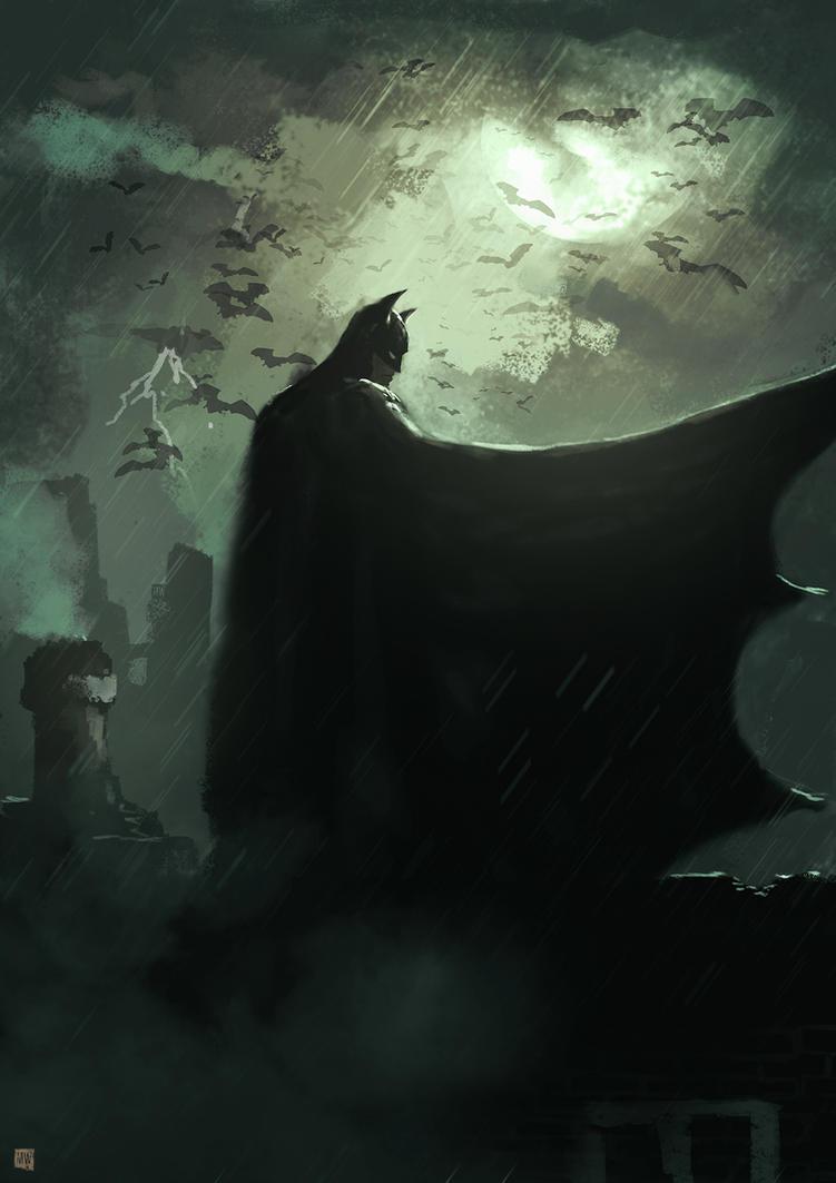 The Dark Knight by matty17art
