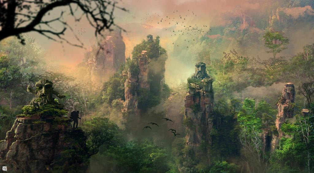 jungle trek by matty17art