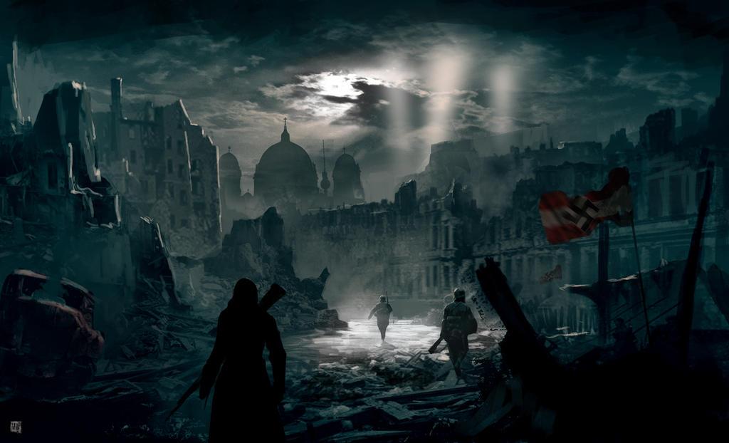 Assassin 39 S Creed Berlin Ww2 By Matty17art On Deviantart
