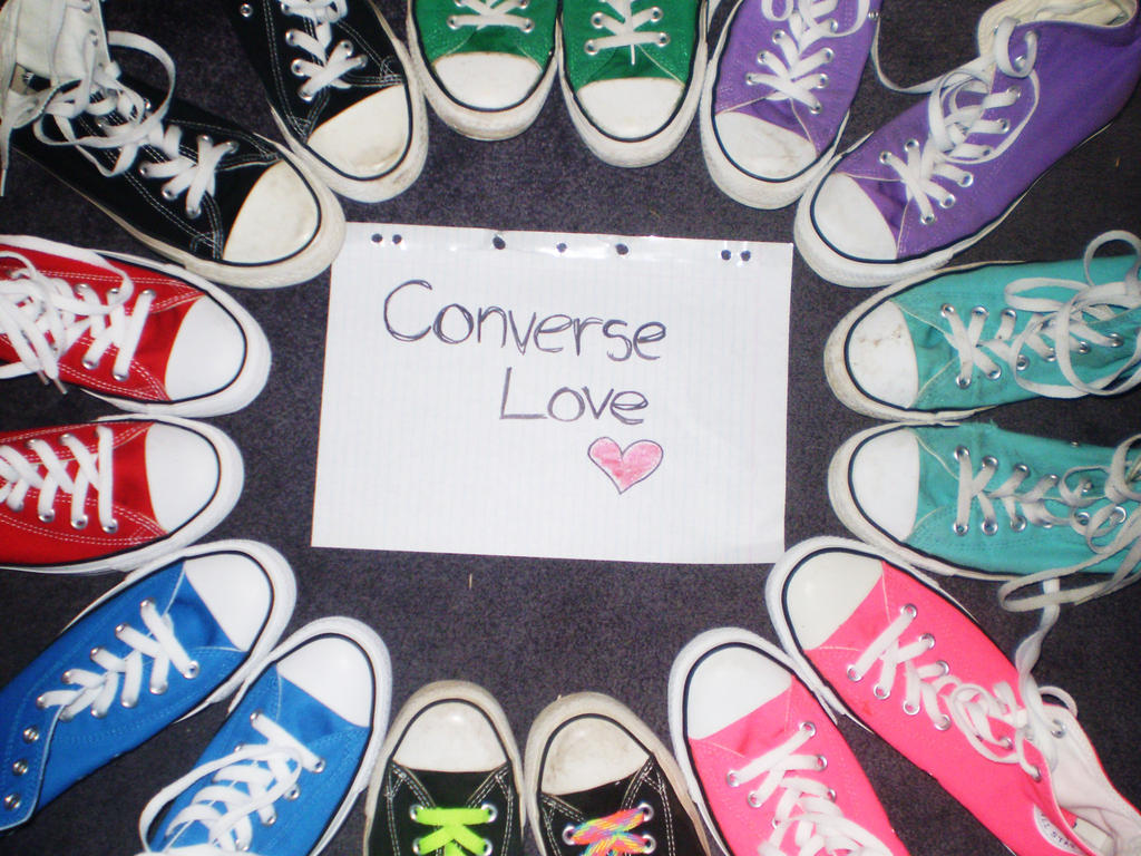 converse we love you chucks! marketing case Converse marketing plan0 - free  about how old you are but how good you  it encourages painters to use the chuck taylor canvas as their own in 2000, we hired.