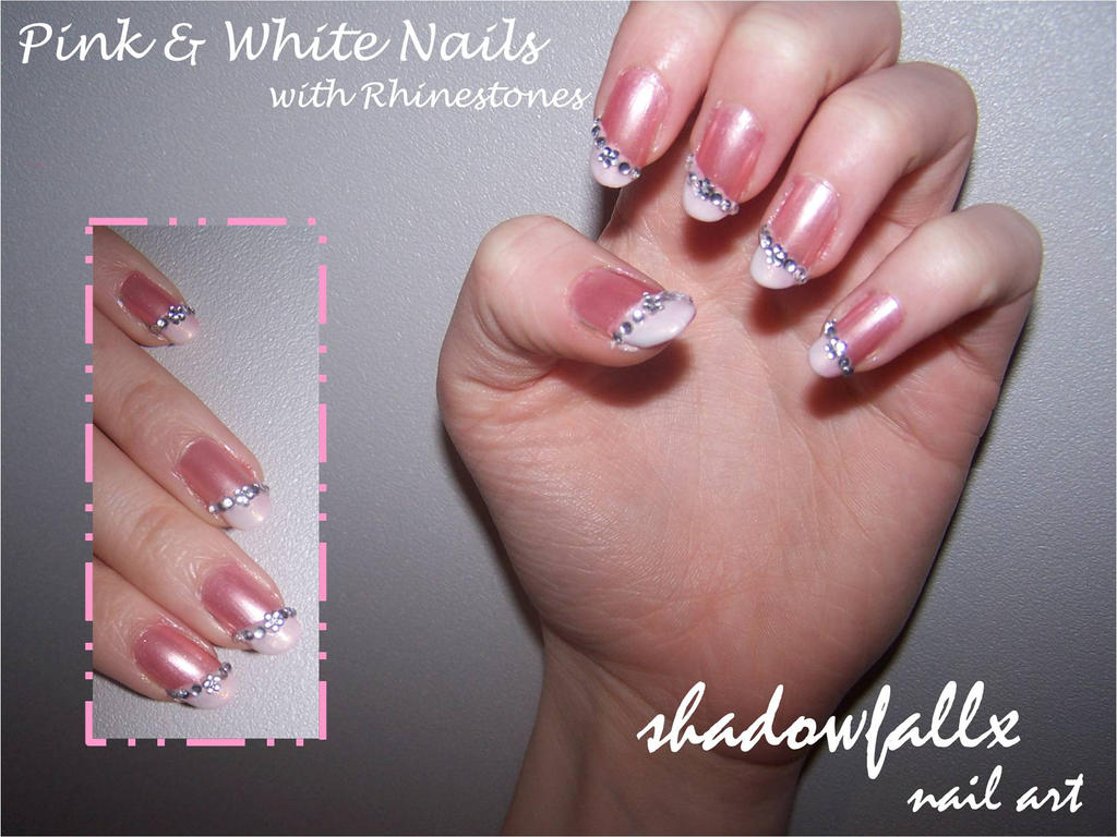 White and pink nail designs images nail art and nail design ideas pink and white nails by shadowfallx on deviantart pink and white nails by shadowfallx prinsesfo images prinsesfo Gallery