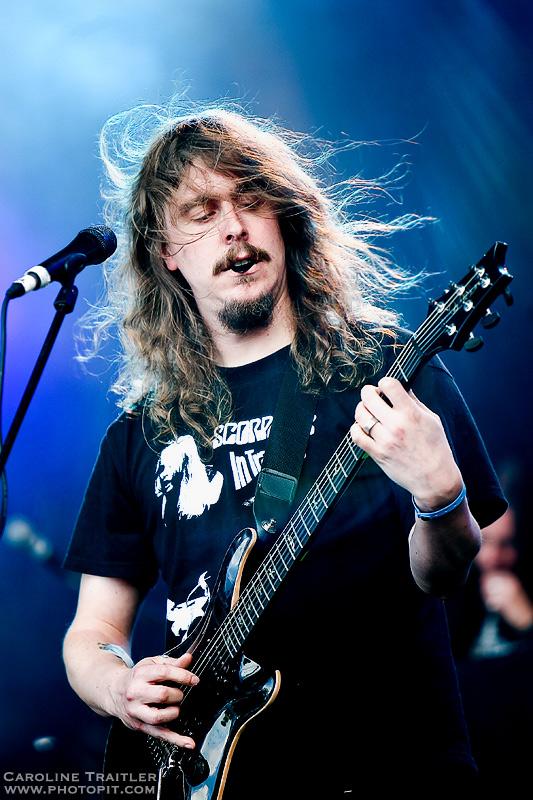 Opeth at Hellfest IV by CaroFiresoul