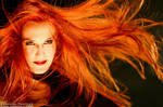 Epica - a sea of red hair by CaroFiresoul