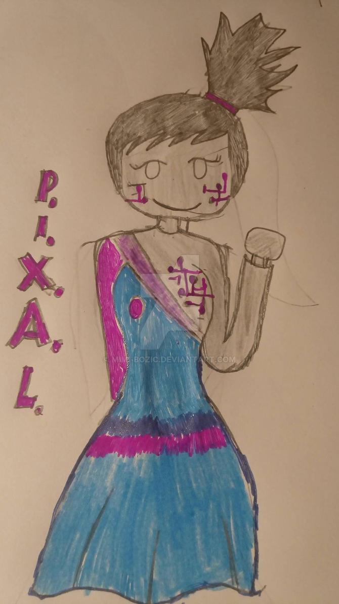 Ninjago P.I.X.A.L. by Mimi-bozic